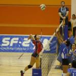 CDU Granada en voleibol femenino al fin le toma brío a la temporada