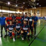 La primera derrota para el CDU Granada voleibol masculino llegó en Benidorm