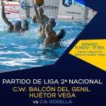 El Club Waterpolo Huétor Vega quiere hacerse fuerte como local