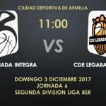 CD Granada Integra de baloncesto en silla ruedas juega como local