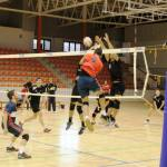 Dura derrota para el CDU Granada de voleibol masculino ante CV Valencia
