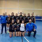 Histamar CDU Atarfe tuvo un duelo de titanes ante Cajasol Juvasa en voleibol femenino