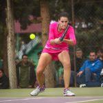 Nuria Párrizas acaba su gira por Egipto en los torneos de tenis