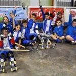 El Club Hockey Patín Cájar Alevín entre los ocho mejores equipos de España