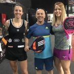 Lucía Martínez competirá finalmente junto a Carla Mesa en la modalidad de pádel