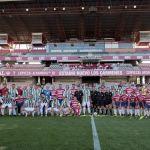 Un generoso y merecido III Memorial Chikito con los veteranos del Granada y el Córdoba