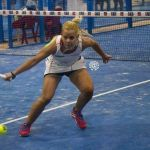 Lucía Martínez comienza su participación en el Valladolid Pádel Open