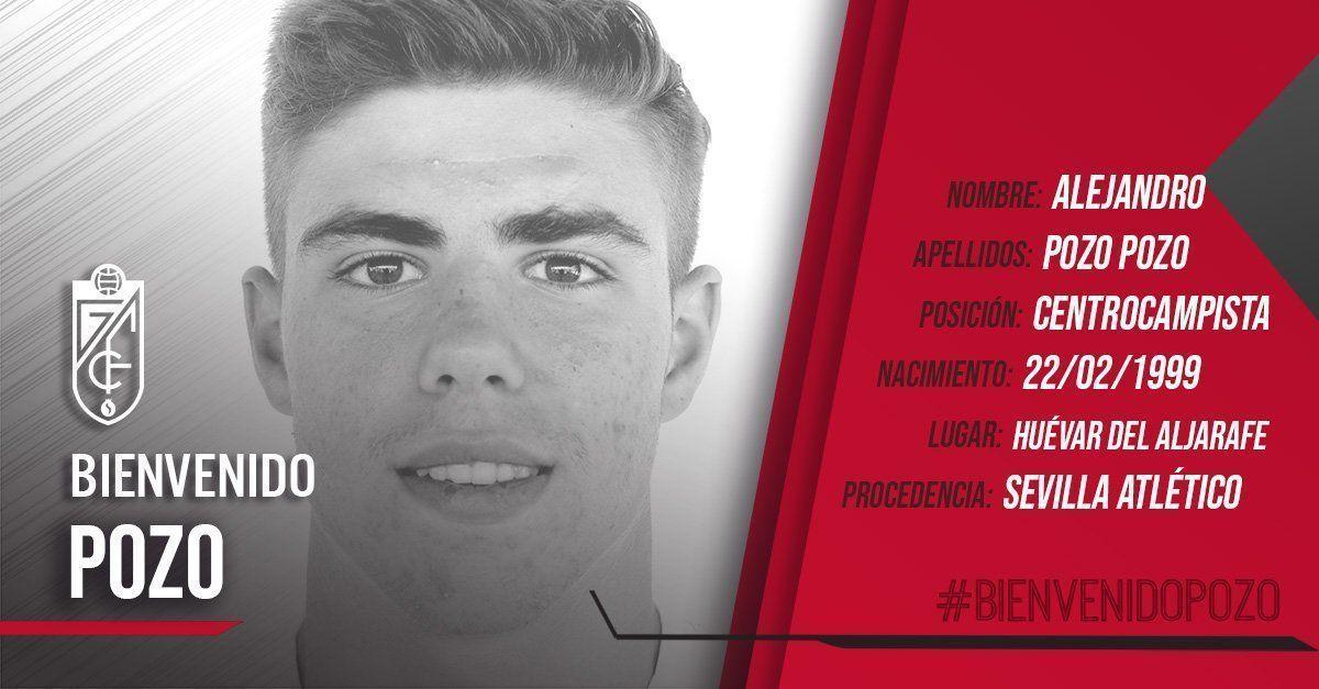 El internacional español Alejandro Pozo ya es jugador del Granada CF