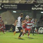 Inicio de liga inmejorable y prometedor del Recreativo Granada ante el Cartagena (2-3)