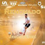 Jesús Pérez renueva también con el SIMA Peligros Fútbol Sala