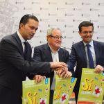 La Fundación Club Baloncesto Granada, en el Día de la Banderita