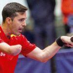 Mateo Boheas, rival de José Manuel Ruiz en los octavos del Mundial Tenis de Mesa