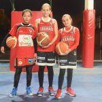 Dabat, Osinaga y Ariza, al Campeonato de Andalucía Alevín de baloncesto