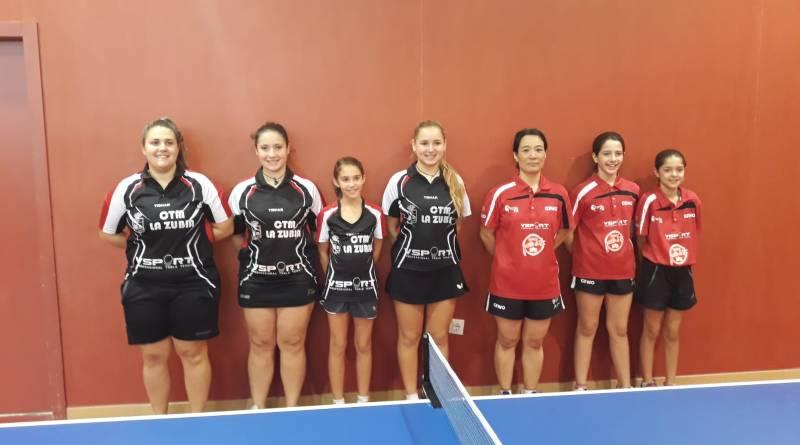 El Club Tenis de Mesa La Zubia solventa un fin de semana atractivo