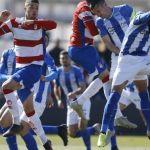Un preocupante Recreativo Granada pierde de nuevo en la Ciudad Deportiva GCF