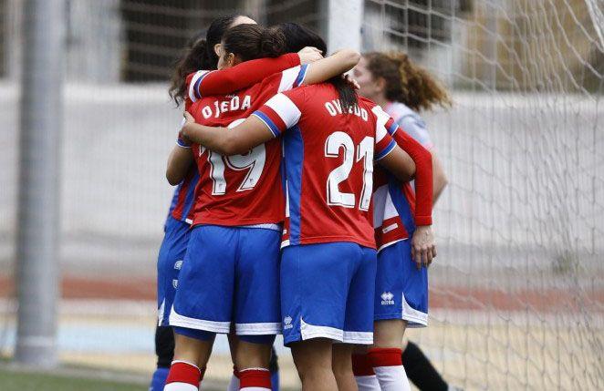 El Granada CF Femenino consagra su victoria en la primera parte ante el filial del Málaga