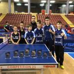 El Club Tenis Mesa La Zubia obtiene resultados destacados en Campeonato de Andalucía