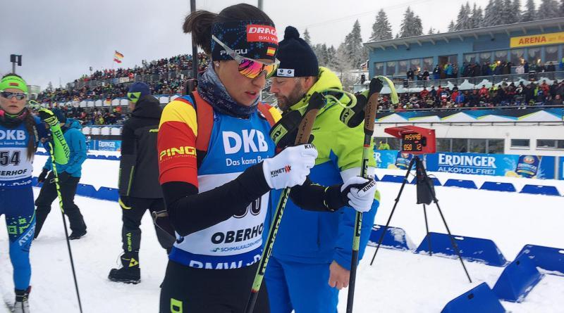 Victoria Padial vuelve a competir en el nuevo año