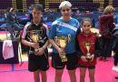 CTM La Zubia participa en el Torneo Estatal de tenis mesa con éxitos
