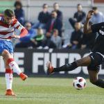 Recreativo Granada cae en picado ante un Sevilla Atlético en inferioridad numérica