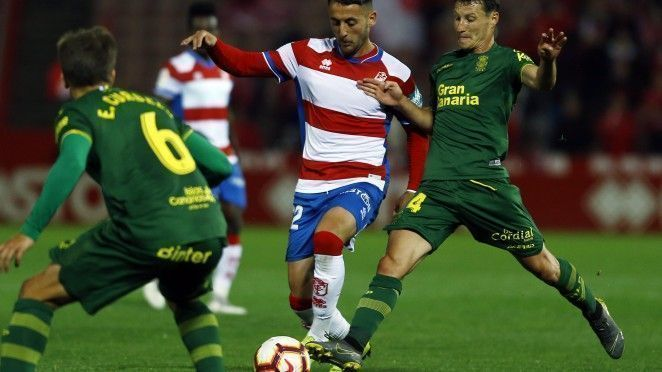 Granada CF y UD Las Palmas tienen un encuentro muy vigoroso que finalizó en tablas