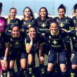 Yurena, protagonista del Granada Femenino en la goleada al CD Castuera con sus cinco goles