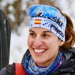 Victoria Padial en el Biathlon Final IBU Cup 2019 de Italia