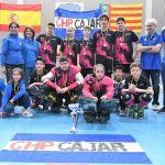 El Club Hockey Patín Cájar Alevín ya entre los ochos mejores equipos de España