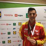 El Open de Eslovenia deja dos medallas para Jose Manuel Ruiz en tenis de mesa