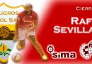 Rafi Sevilla confirma su renovación con SIMA Peligros Fútbol Sala