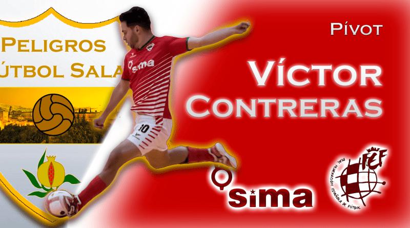 Víctor Contreras renueva con el SIMA Peligros Fútbol Sala