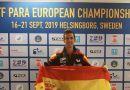 Jose Manuel Ruiz comienza su participación en el Campeonato de Europa