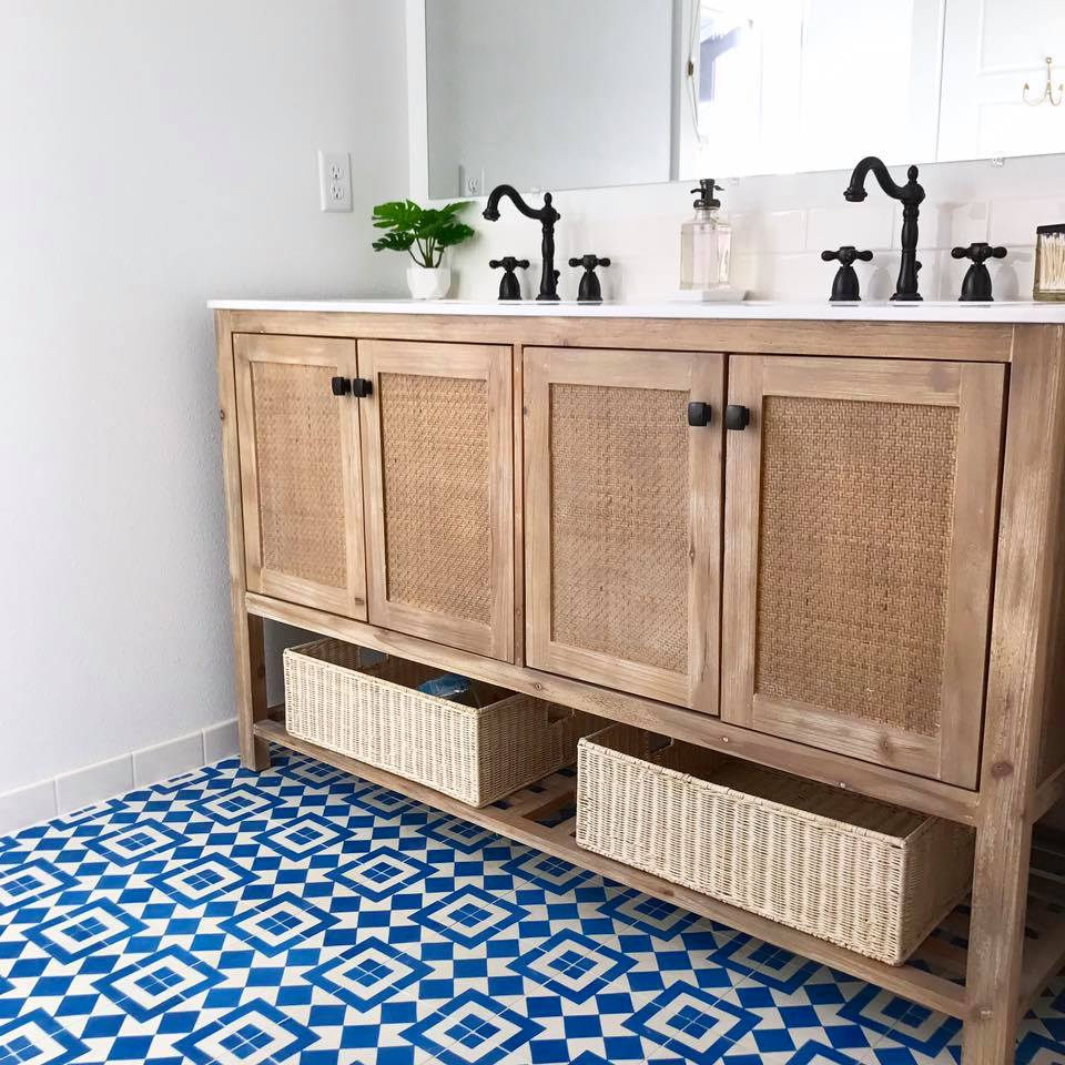 how to clean and maintain cement tiles