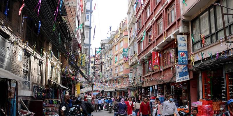 alojarse en Nepal Granadino Errante