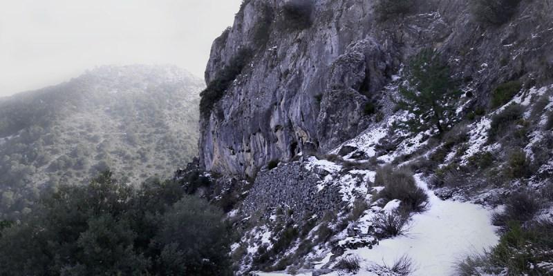 Ventisca en Puerto Lobo fotografía