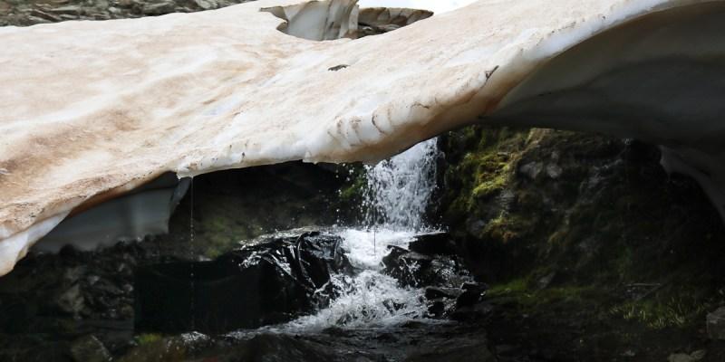 Deshielo en Sierra Nevada Lavaderos de la Reina