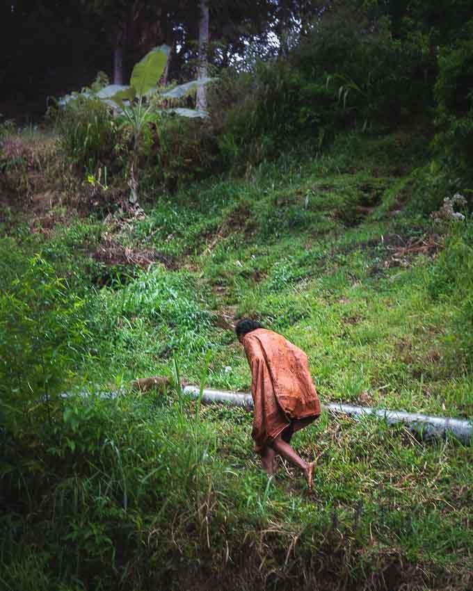 país de los Toraja nativo