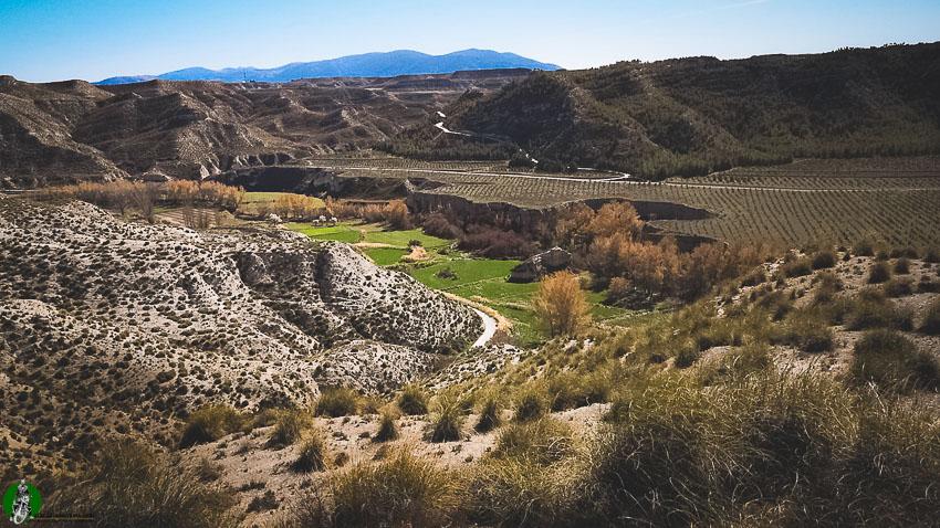 senderos de Galera Granada
