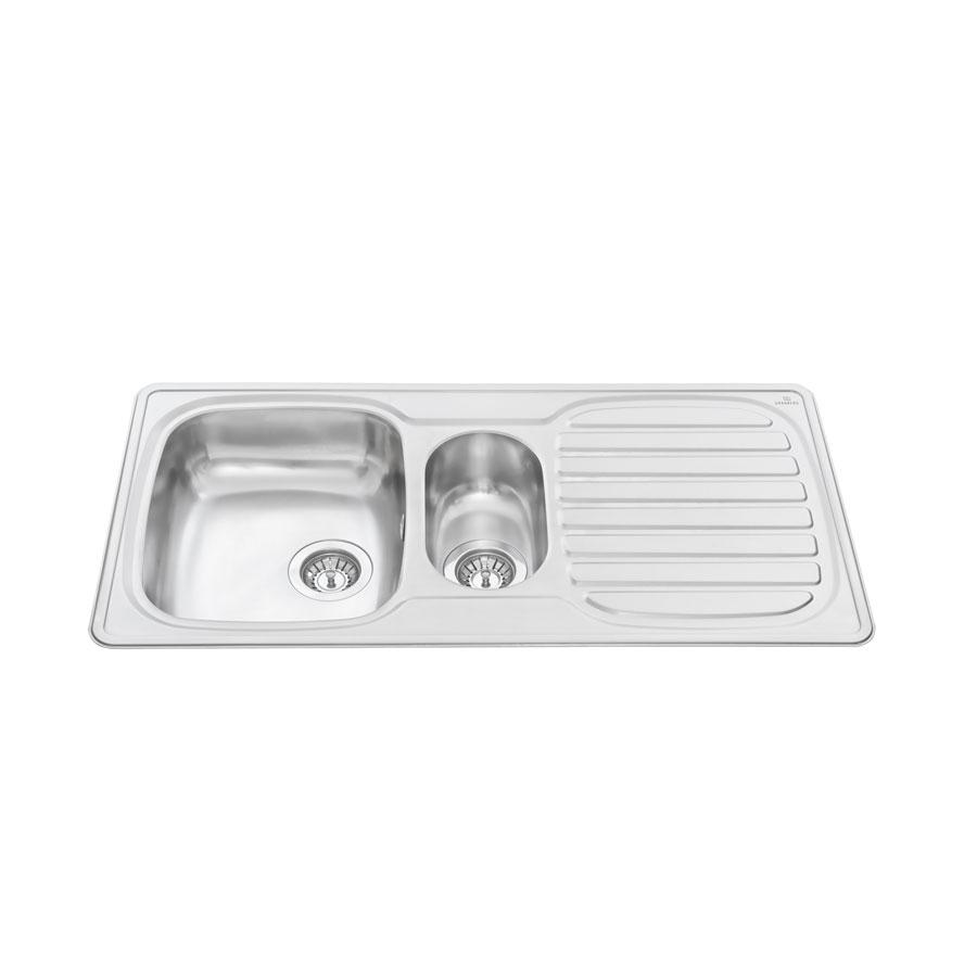 inset kitchen sink stainless steel es25