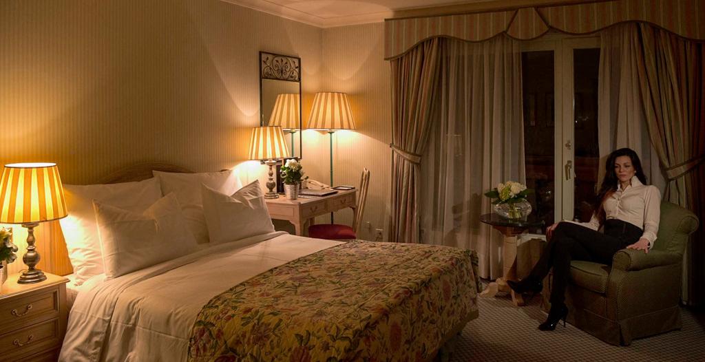 Chambres Grand Hôtel du Golf & Palace à Crans-Montana