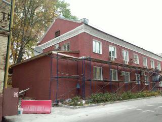 Монтаж фасада завода «Шелк» г.Москва