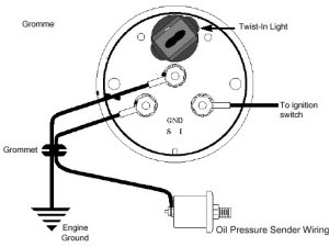 Oil Pressure Gauge Installation