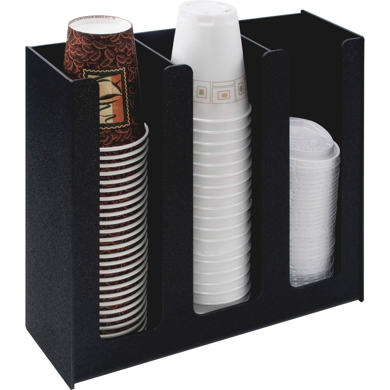 Vertiflex 3 Column Cup And Lid Holder Organizer