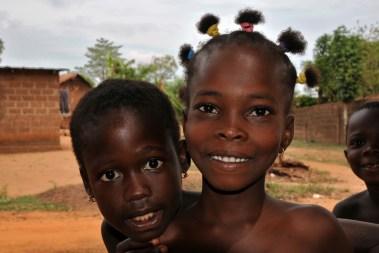 Village bord du lac Togo F13_2596