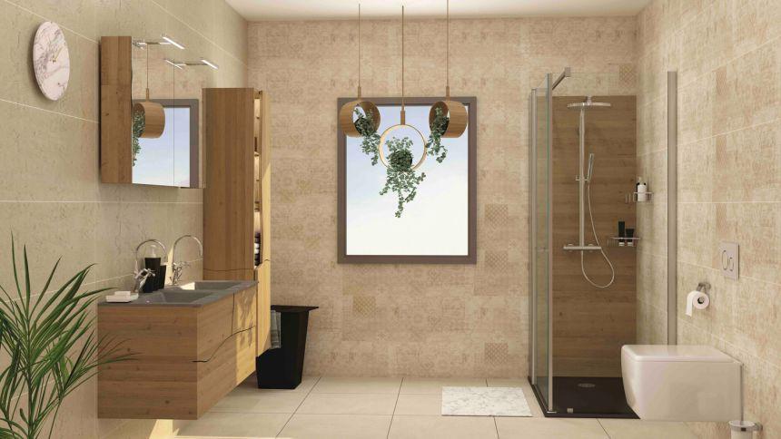 le retour du meuble salle de bain en bois
