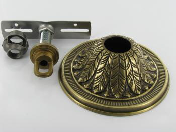Lamp Parts Lighting Chandelier Antique Brass