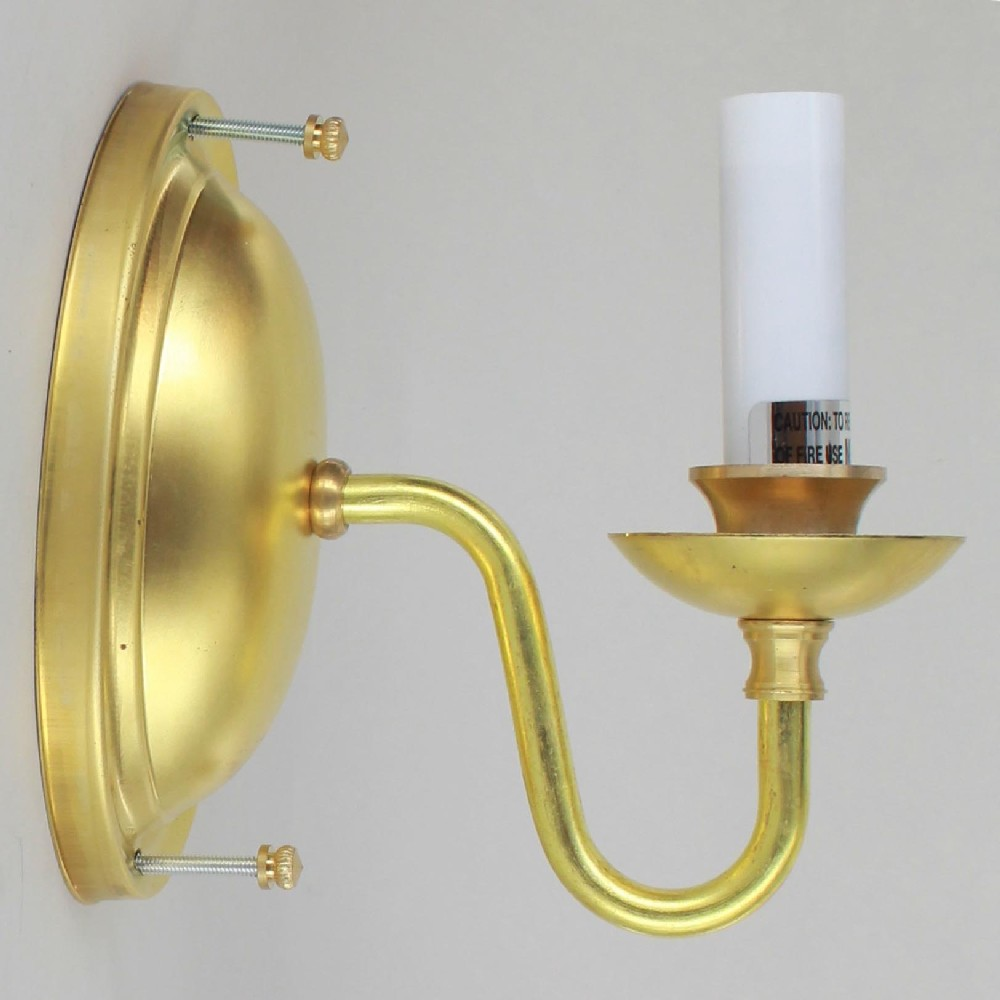 Lamp Parts - Lighting Parts - Chandelier Parts | SINGLE ... on Wall Sconce Parts id=62376