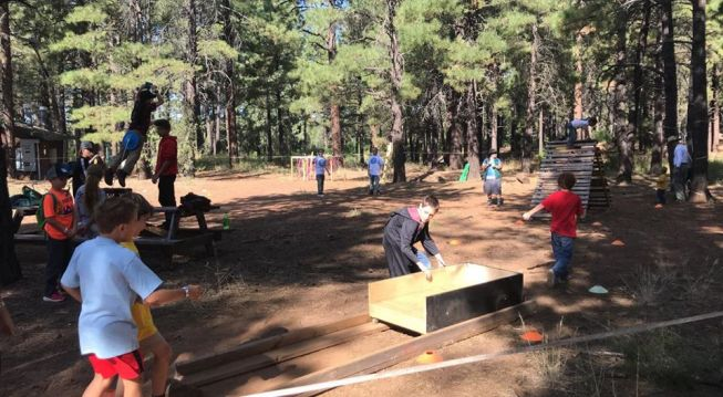 Camp Kaibab Obstacles