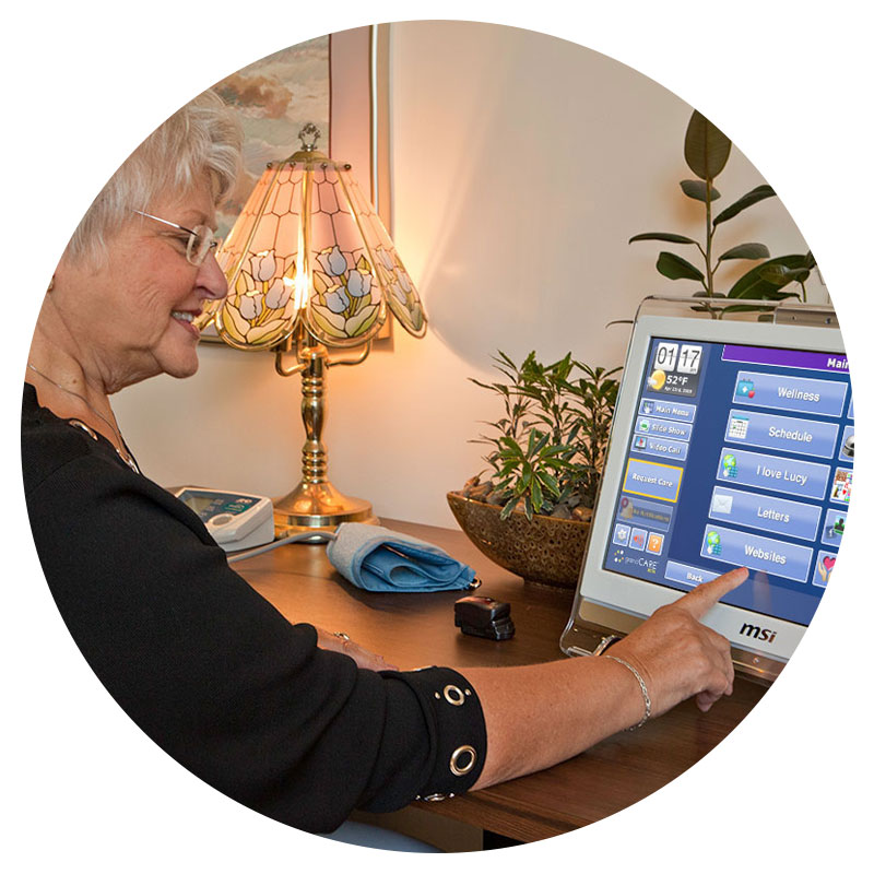 Family caregiving technology