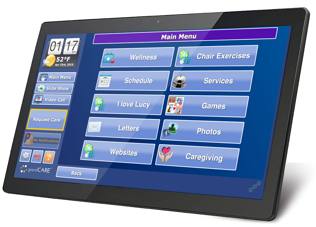 home monitoring system for elderly